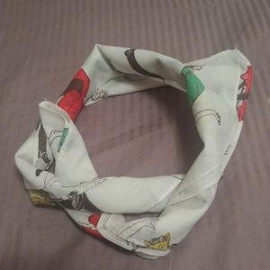 Penhaligon's london square silk scarf